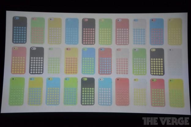 iPhone 5C mit Case
