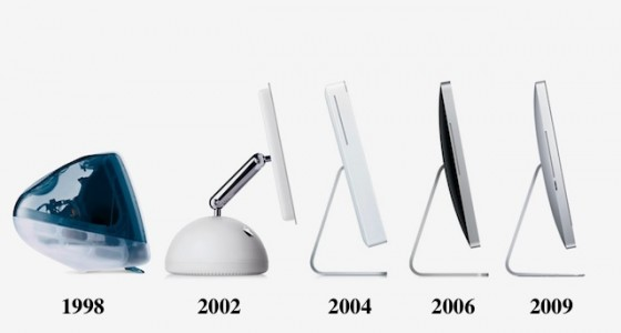 iMac Evolution