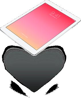 iPad Valentinstag