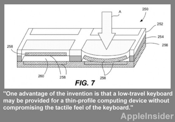 Apple Keyboard Patent