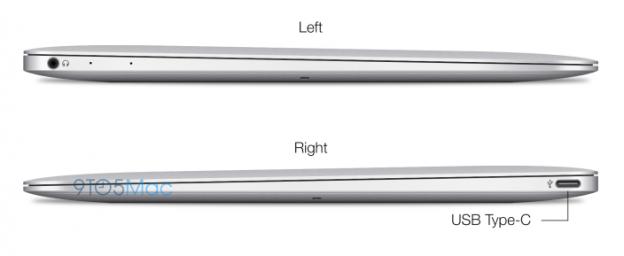 """MacBook Air 12"""" Profil"""