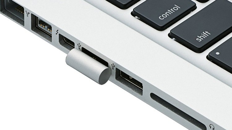 Ultra Compact USB-Stick im MacBook Pro