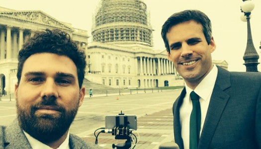 SRF filmt in Washington mit dem iPhone 6 Plus.