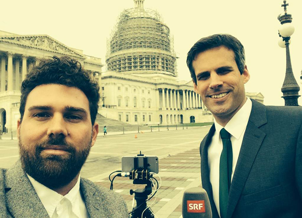 SRF filmt in Washington mit dem iPhone 6 Plus.