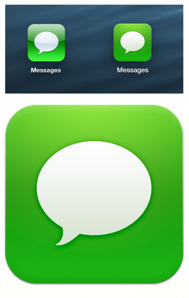 Apple-Flat-Design