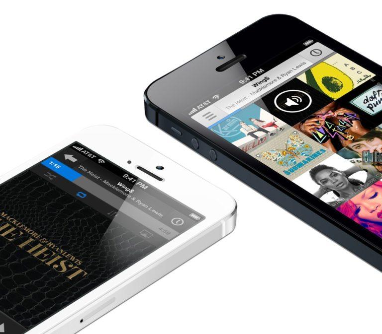 Music iOS App Konzept