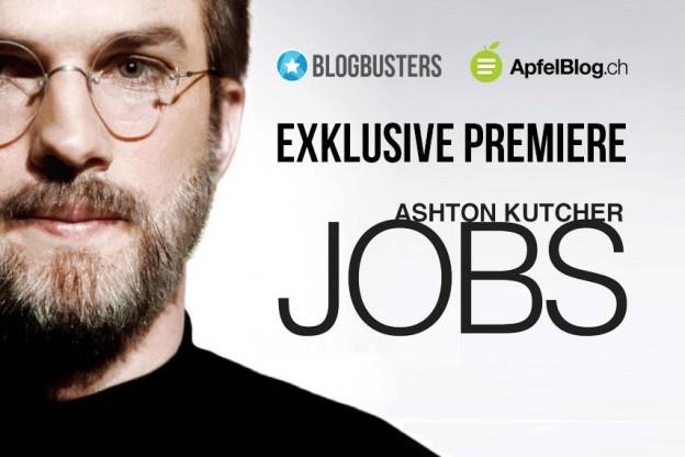 Exklusive Premiere mit Blogbusters und ApfelBlog: JOBS