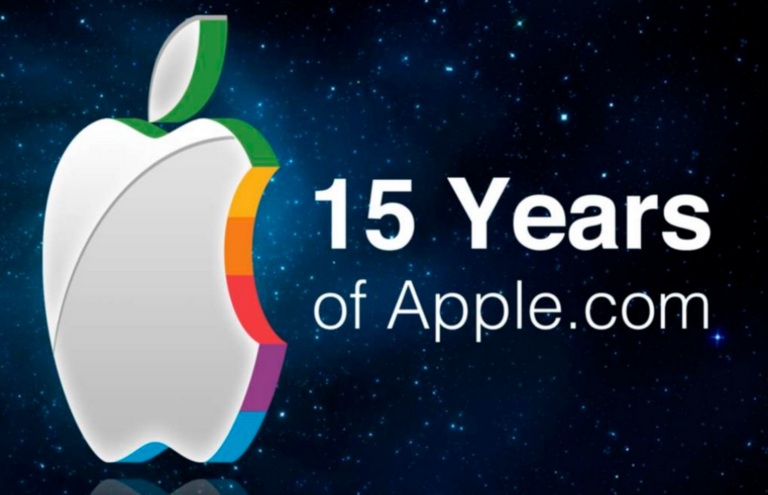 15 Years of Apple.com