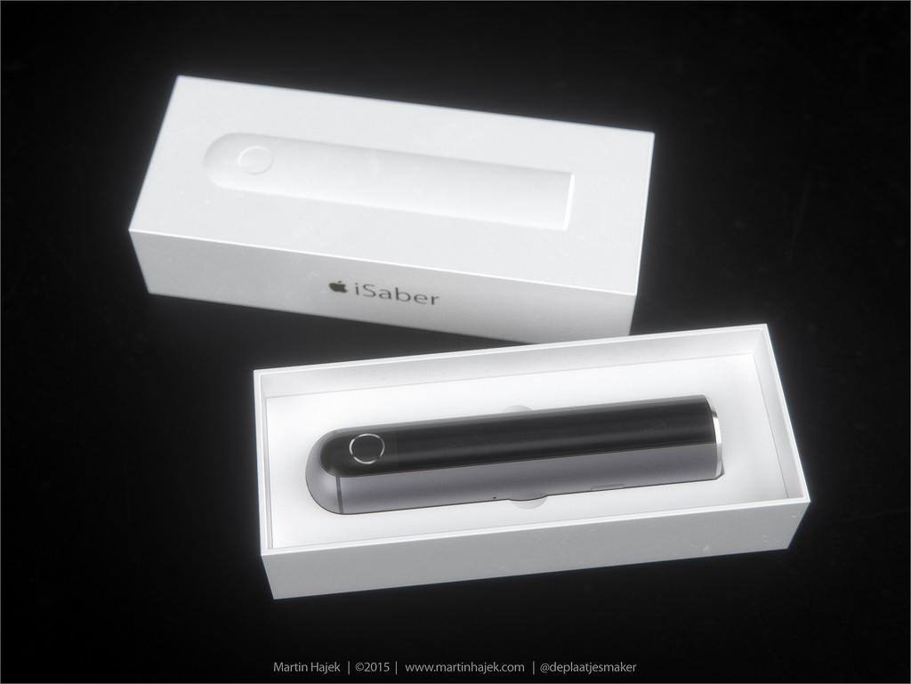 Wenn Apple ein Lichtschwert entwickeln würde.