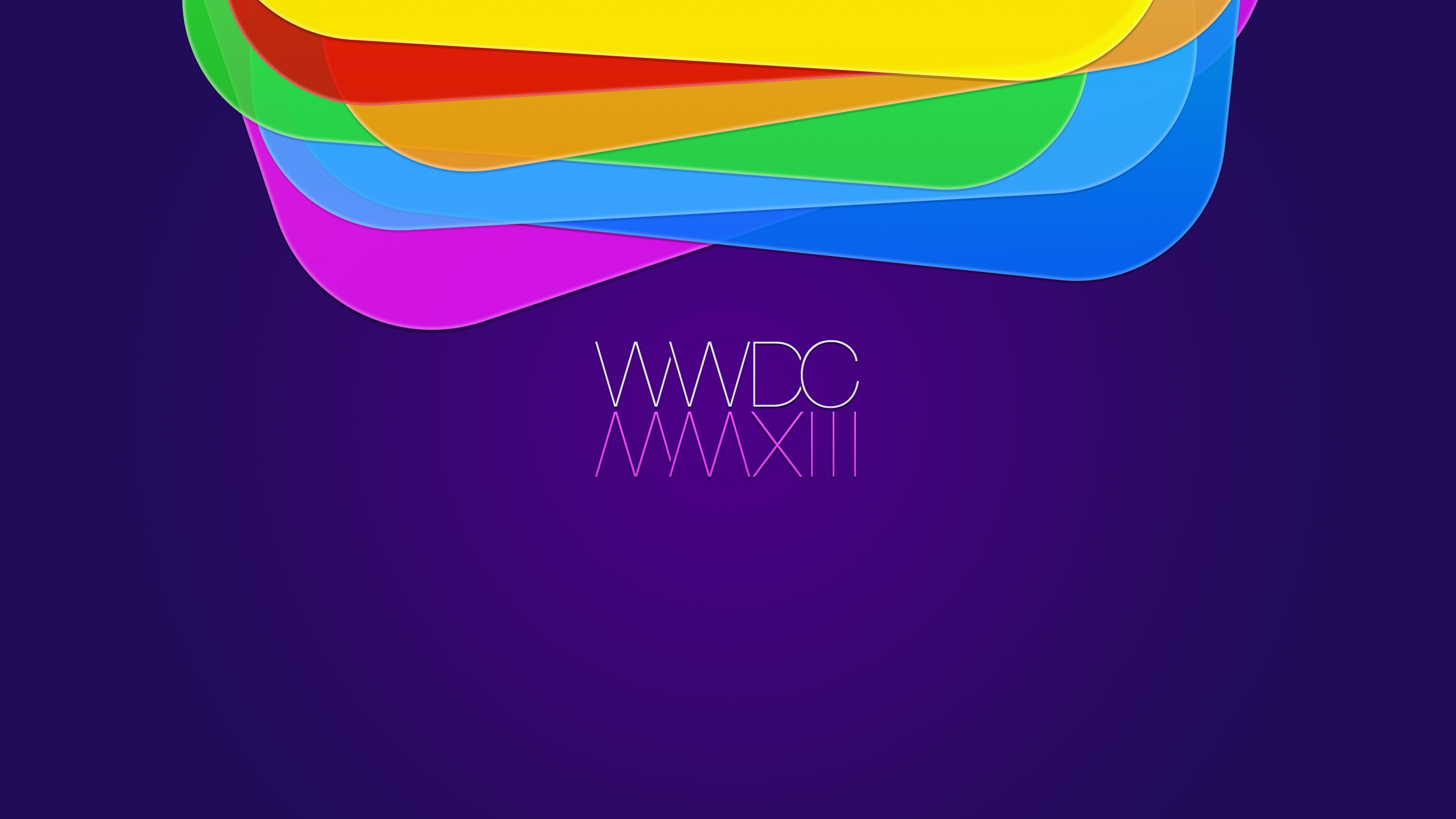 Schöne WWDC 2013 Wallpapers