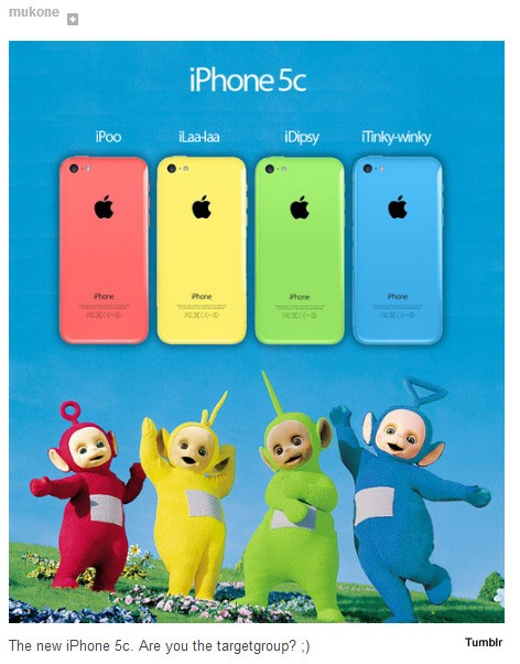 iPhone 5C Zielgruppe