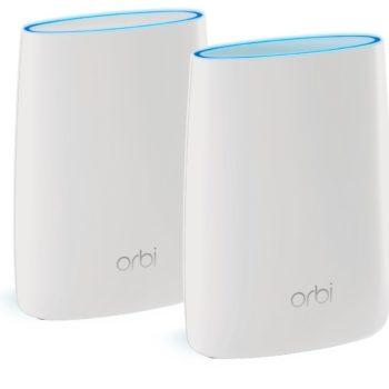 Die Netgear Orbi Router sehen gut aus und bringt die bessere Leistung als Google Wi-Fi.