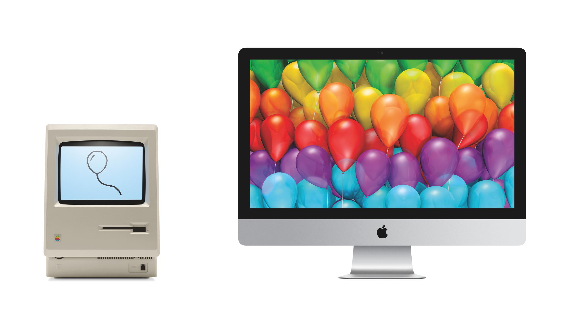 30 Jahre Macintosh.