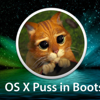 OS X Puss in Boots