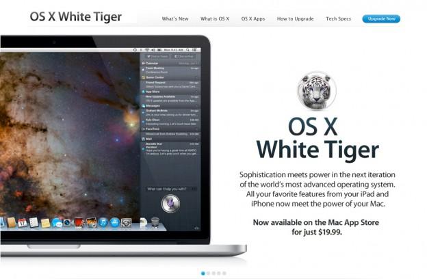 OS X White Tiger