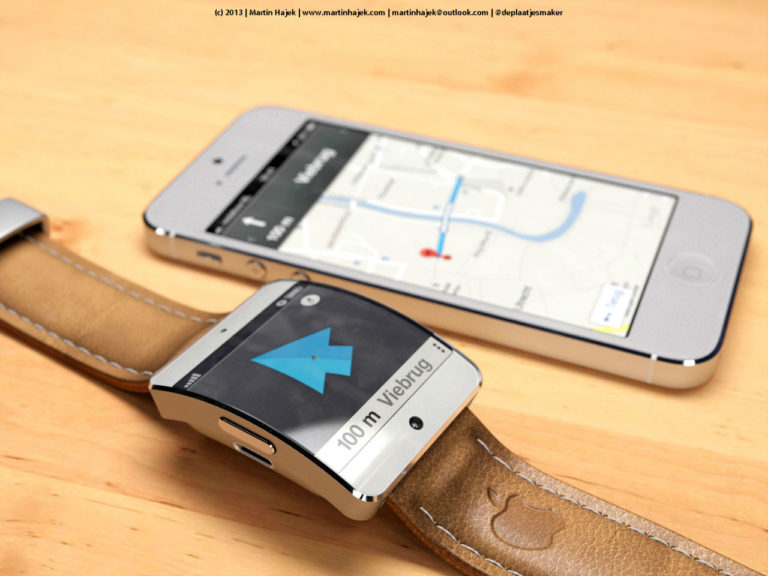 iWatch by Martin Hajek mit Navigation