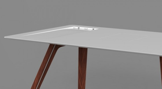 Apple Desk Detail