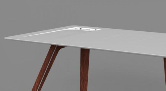 Apple Desk Detail