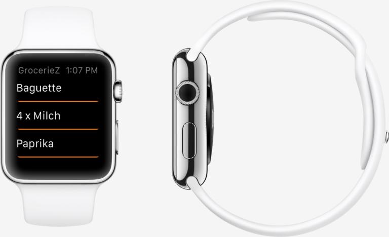 Apple Watch App Zuehlke WatchKit