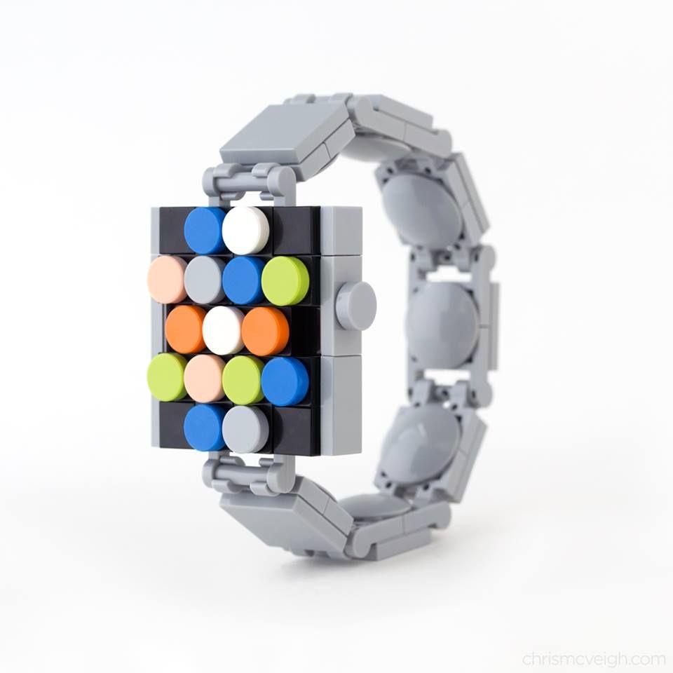 Bau dir deine Apple Watch aus LEGO.
