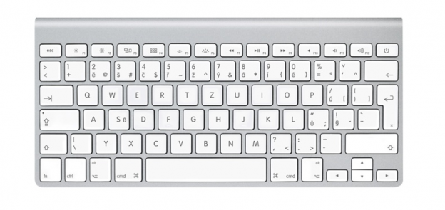 Apple Wireless Keyboard mit Hintegrundbeleuchtung