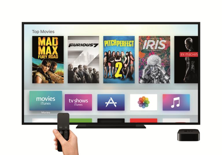 Apple TV mit neuer Remote Steuerung