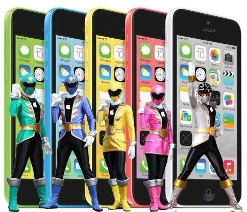 iPhone 5C Power