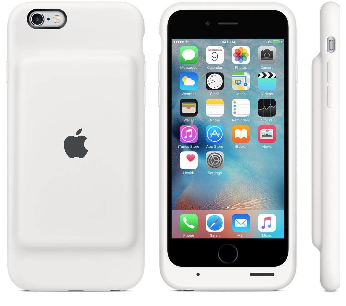 Apple bringt eigenes Battery Case für iPhone 6s.