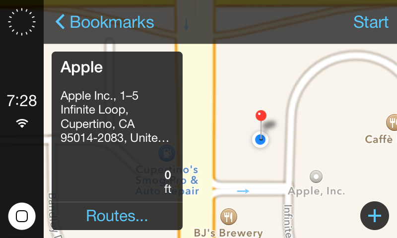 iOS erobert das Auto.