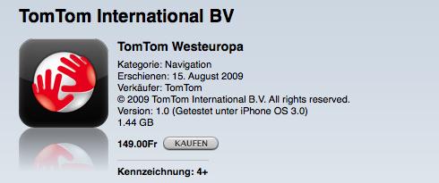 TomTom im App Store