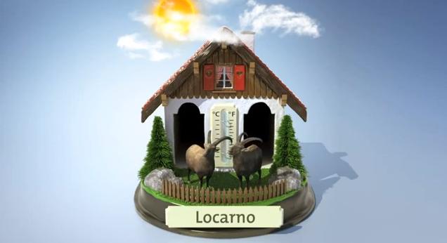 Die beste und lustigste Wetter-App