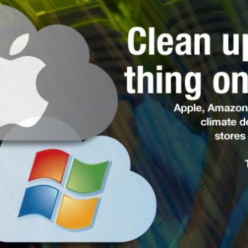 Greenpeace: Dirty Cloud