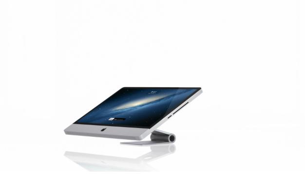 iMac touch Konzept