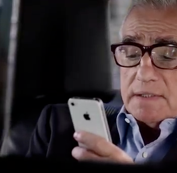 Martin Scorsese und Siri