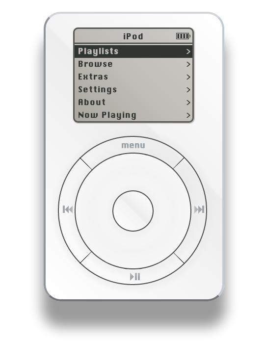 iPod Classic im Webbrowser