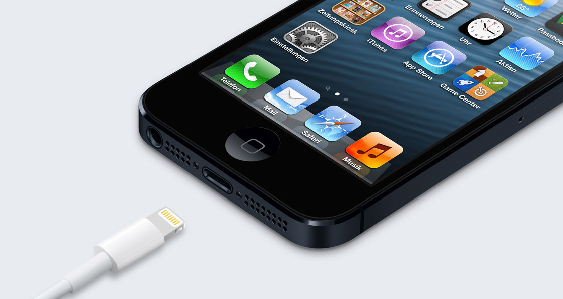 Lightning Connector und iPhone 5