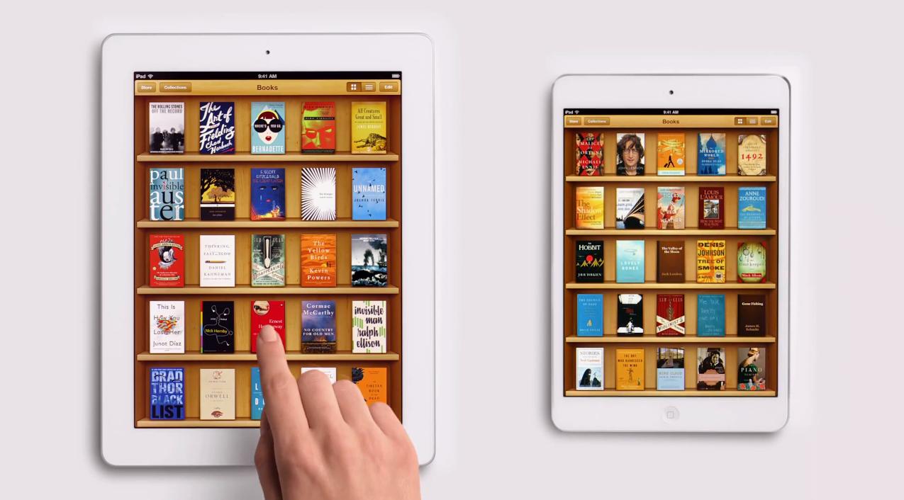iBook auf dem iPad mini