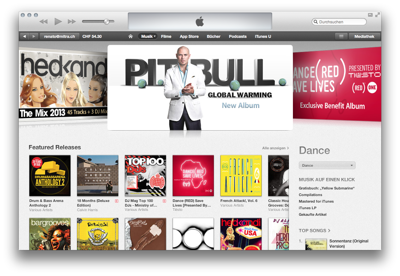 Tipps zu iTunes 11