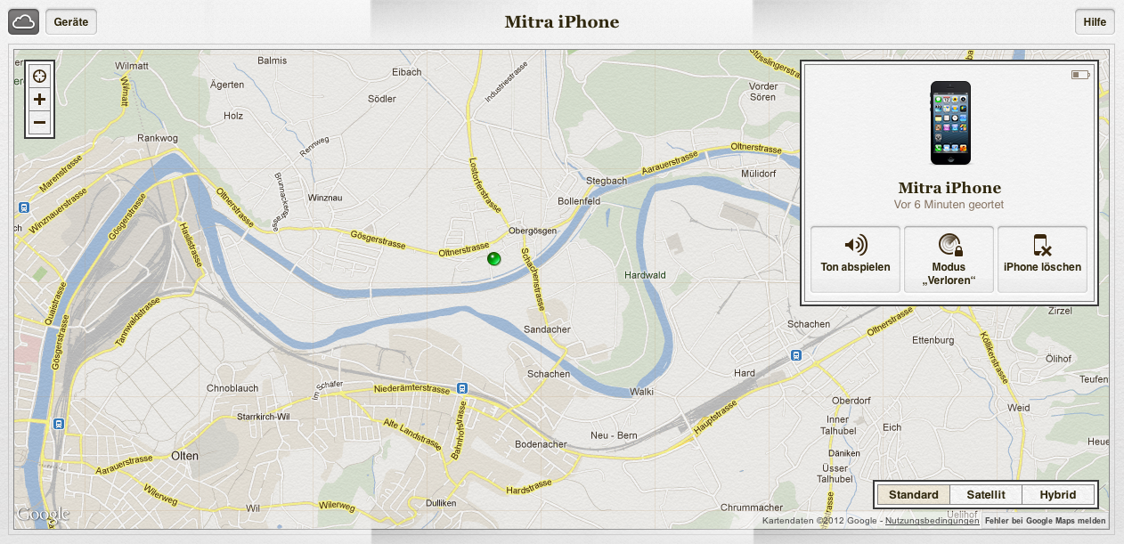 """Warum ich """"Mein iPhone suchen"""" liebe."""
