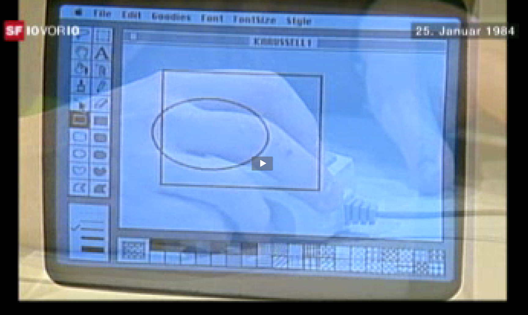 Der erste Macintosh in Europa kam damals in die Schweiz [Updated]