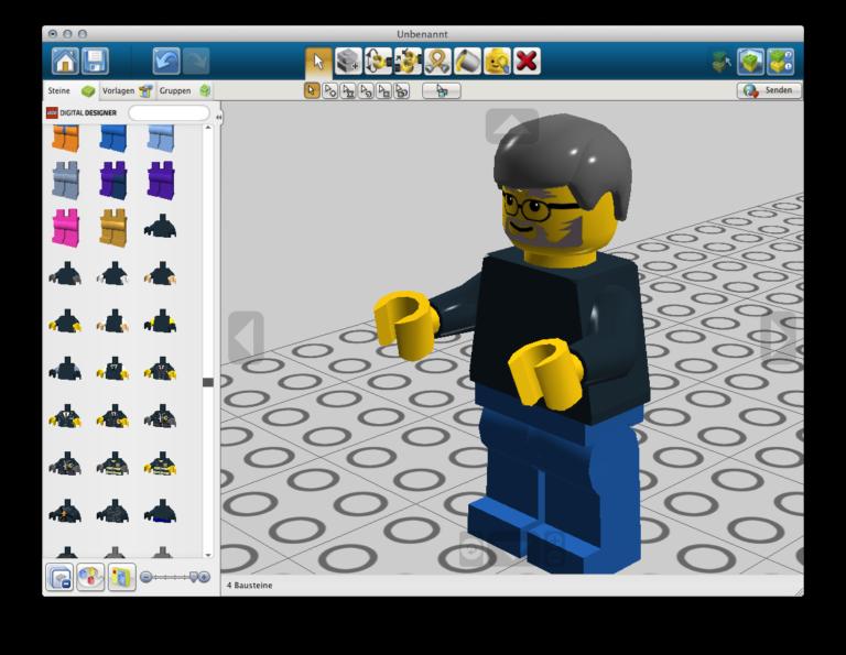 Lego Digital Designer - Steve Jobs