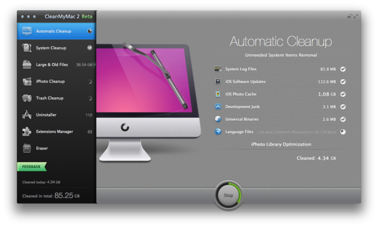 CleanMyMac 2 Beta