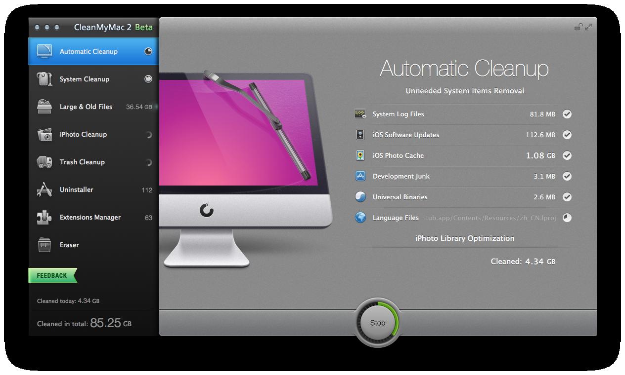CleanMyMac 2 Beta