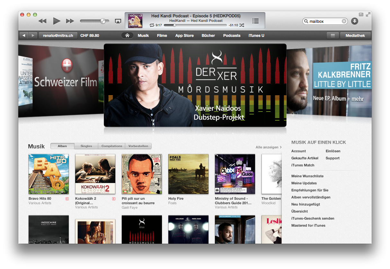 Apple bewegt die Musikindustrie. Schon wieder.