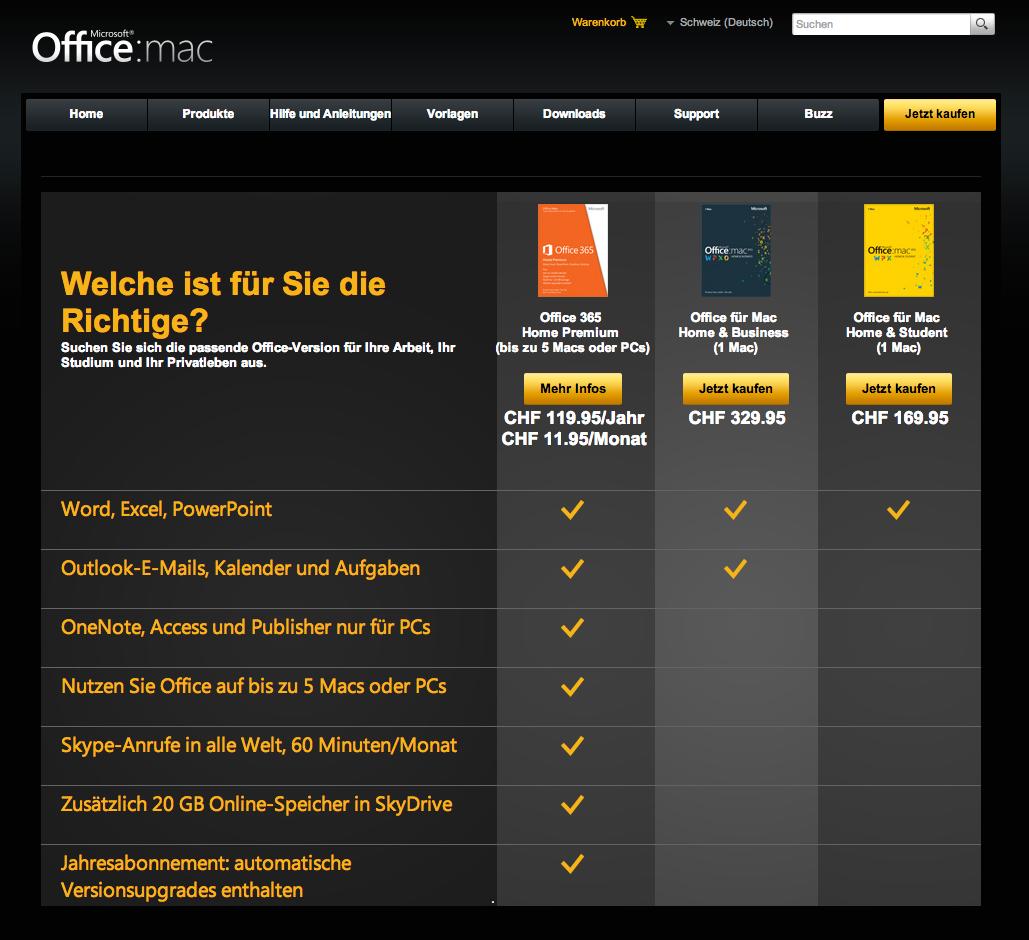 Microsoft macht Office für Mac teurer und streicht Multi-Lizenzen.
