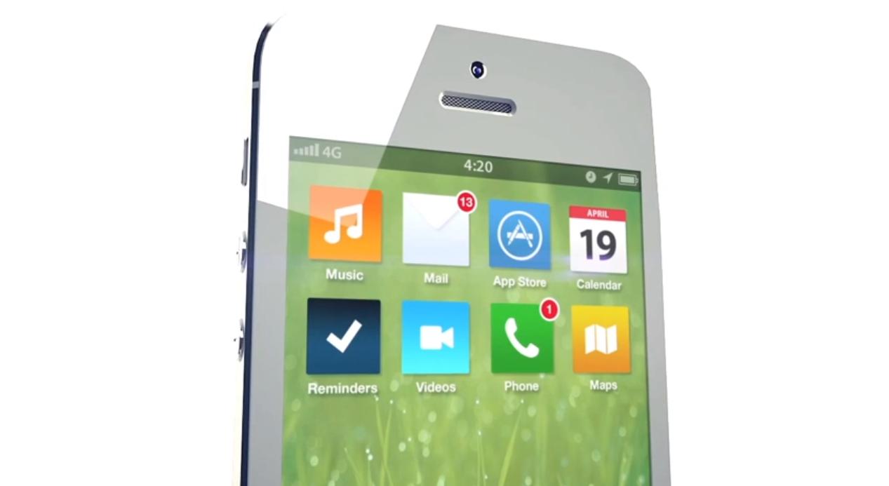 iOS 7 Design Konzept