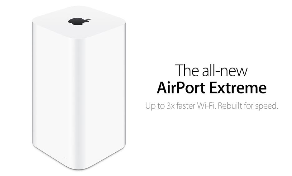 Neue AirPort Extreme und AirPort Time Capsule Basisstationen