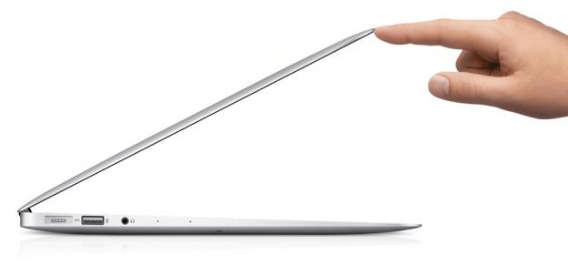 Das dünne MacBook Air