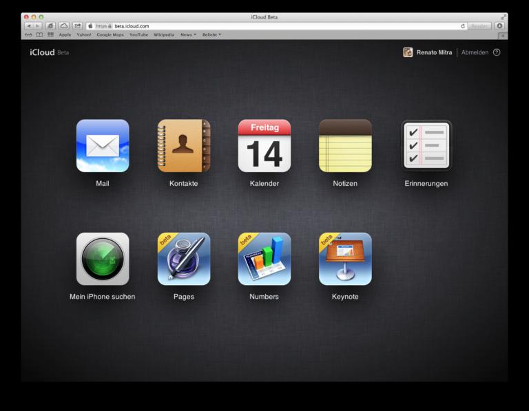 iWork nun in der iCloud