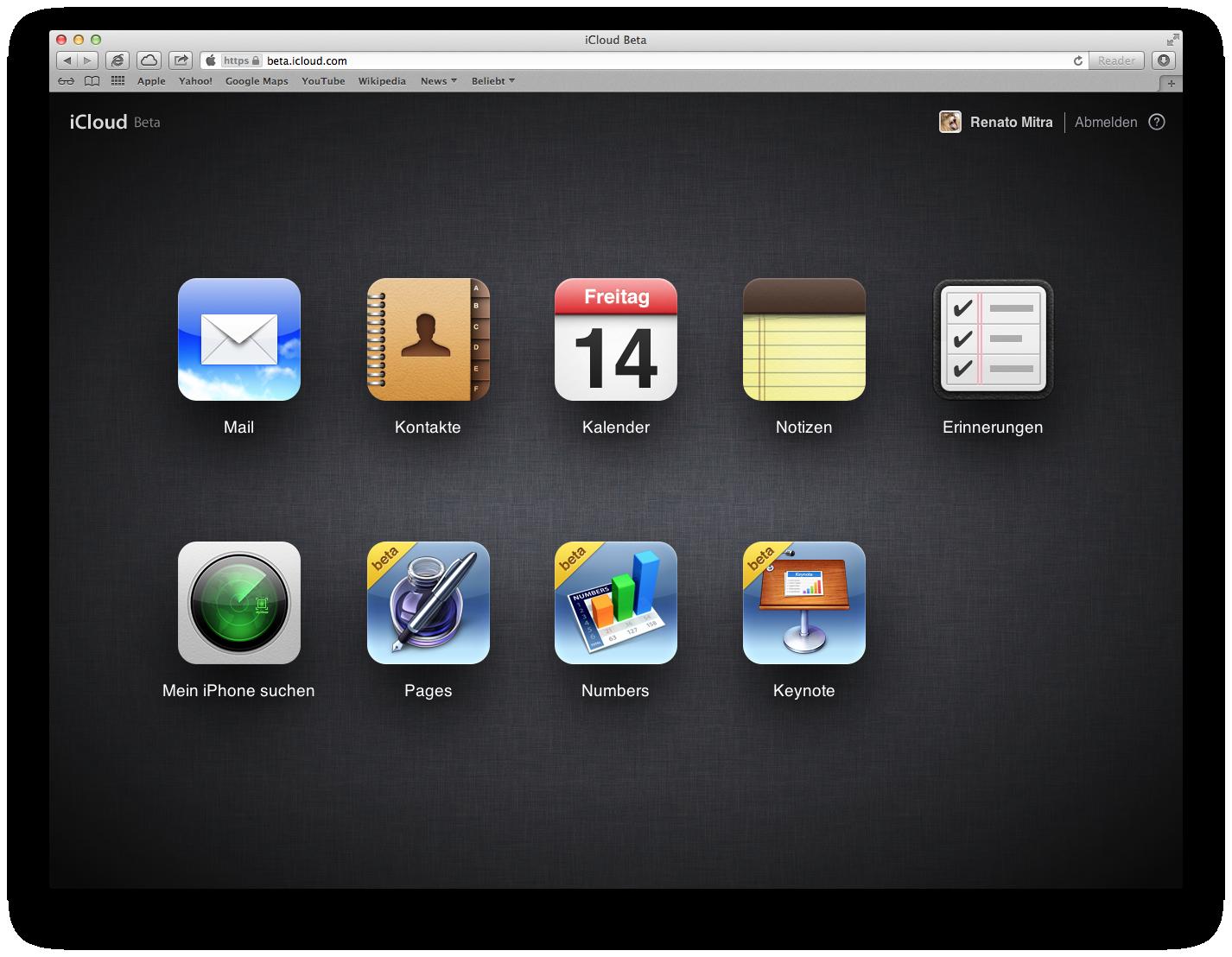 iWork für iCloud als Beta nun verfügbar